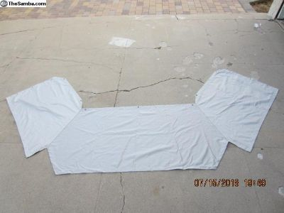 2001-2003 MV poptop front curtain