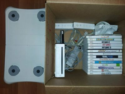 Wii, Games, and board
