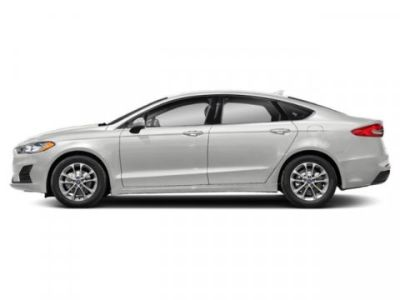 2019 Ford Fusion S (Oxford White)