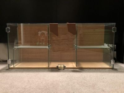 Custom Glass Cabinet - Price is negotiable