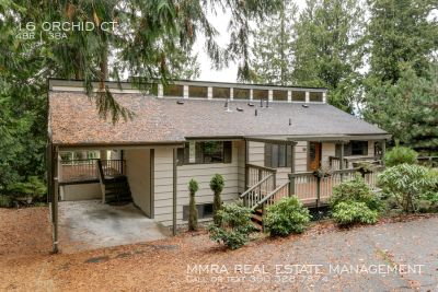 Luxurious 4 Bedroom, 2.5 Bathroom Home with Lake Views Available Now!