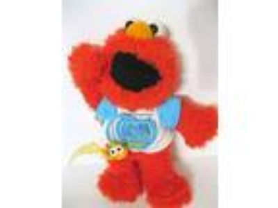 ELMOS WORLD & DOROTHY Sesame Street SINGING 3D Fish in BOWL