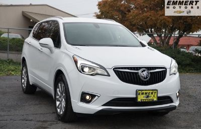 2019 Buick Envision Essence (summit white)