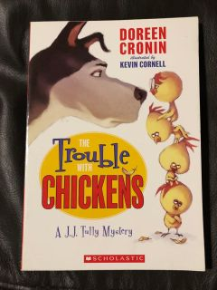 The Trouble With Chickens Paperback Book. Nice Condition