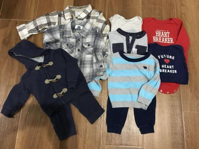 12 & 12-18 month mixed lot 10 pieces!