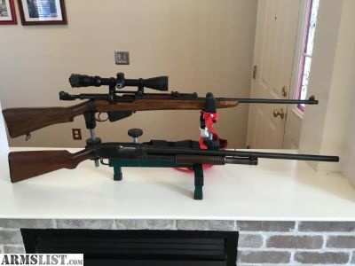 For Sale/Trade: Winchester 12 gauge, 303 british