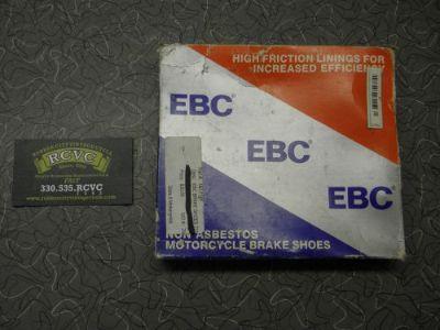 Sell Brake Shoes EBC 711 Non-Asbestos Honda S1 S2 1972-75 Kawasaki KZ440 1980-81 motorcycle in Akron, Ohio, United States, for US $15.99