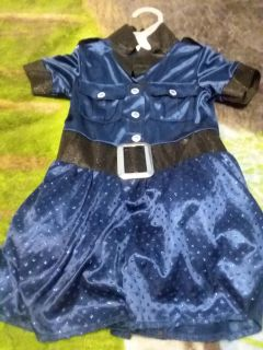 police officer hallowen custome size 2t