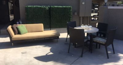 Patio Sofa + Table Set!!!