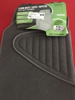 Charcoal Grey car floor mats
