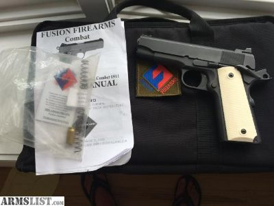For Sale: Fusion Freedom .45 acp Commander