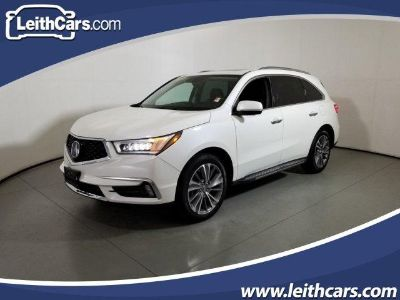 2017 Acura MDX Base w/Advance w/RES (White Diamond Pearl)