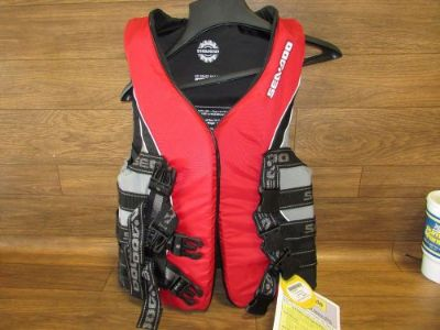 Find Seadoo Jet Ski Brand New Life Jacket Red Adult Small 2854590430 motorcycle in Cairo, Nebraska, United States, for US $55.00