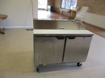 "2017 Beverage-Air 48"" Sandwich Prep Table RTR# 8081337-04"