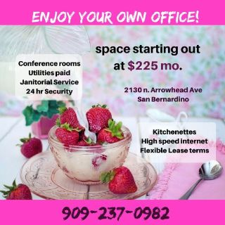 Budget San Bernardino Offices starting @ $225