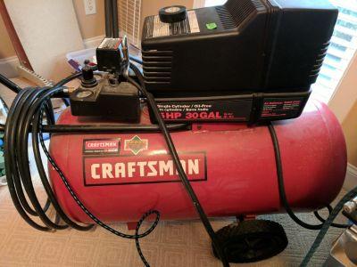 Air Compressor 5 hp 30 gallon