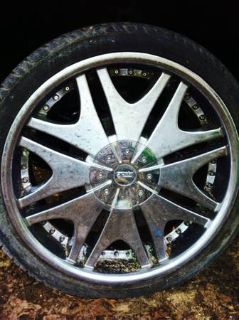 22 inch 5fifty rims