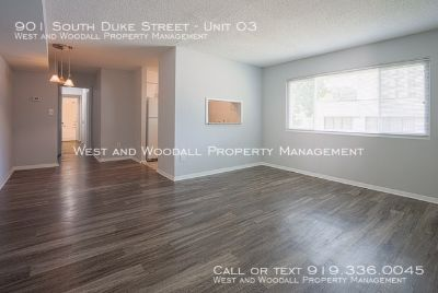 Great Two Bedroom Apartment in Downtown Durham