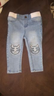 Baby girls skinny jeans size 18 months