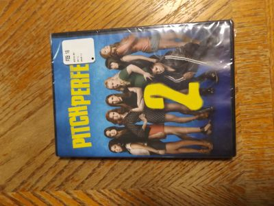 Pitch perfect 2 dvd (new)
