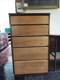 Chest of Drawers*5 Drawers*Tall*All Wood*Vintage*Dovetail