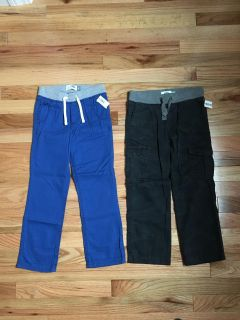 Old Navy Pants Lot. Blue & Dark Navy Blue Camo. Size 5/5t. Brand New with Tags.