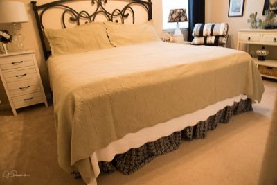 King Size Bedspread and Pillow Shams