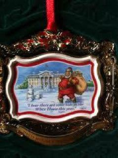 $10 White House Christmas Ornament 2011 Historical Association (South