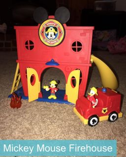 Mickey Mouse Firehouse