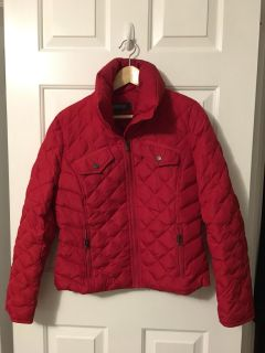 Kenneth Cole Red Puffer - Size M Women