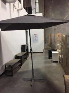 Tilting Patio Umbrella- Black