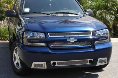 Find T-Rex 06-09 Chevy Trailblazer Billet Grille Upper Class Polished Mesh Grill motorcycle in Corona, California, US, for US $324.50