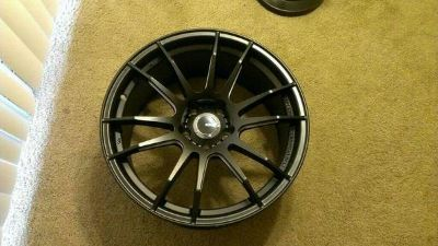 staggered set of wide 18 wheels, 5x114.3