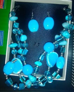 Beautiful Mixit Necklace/Earring set