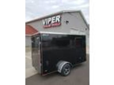 2019 Legend Trailers Legend 6 x 12 V Nose Ramp 6'-6""