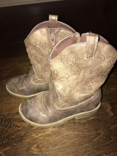 GUC target cow girl boots size 10