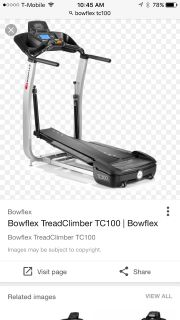Bow flex Tread climber TC 100