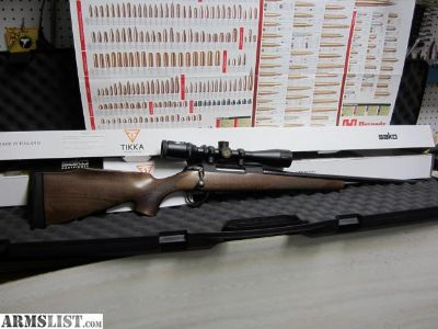 For Sale/Trade: Tikka T3 Forest .222 REM