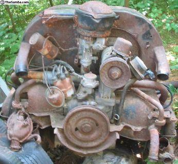 June 1964 Split Bus 1500 Engine # 0590499