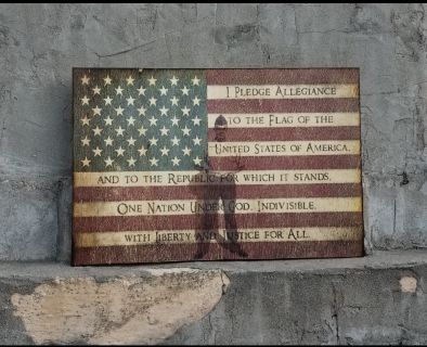 Your Military Hero On Wood