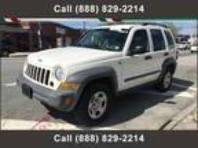 $3695.00 2005 JEEP Liberty with 135740 miles!