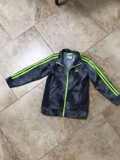 Boys Adidas Jacket size 7. Excellent Condition
