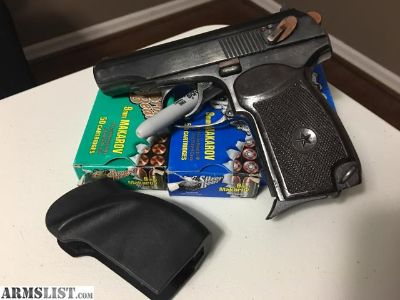 For Sale/Trade: Bulgarian Makarov Pistol by Arsenal, 9x18 mm w/ Ammo