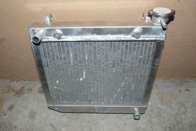 Find honda trx 450r 450 r radiator 04-09 atv alluminum motorcycle in Oldsmar, Florida, US, for US $44.99