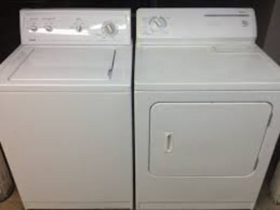 kenmore washer and dryer (not even a year old)