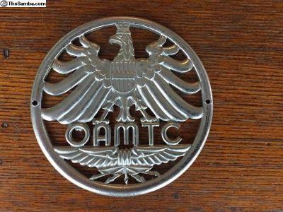 Vintage Austrian Car Club Badge Emblem
