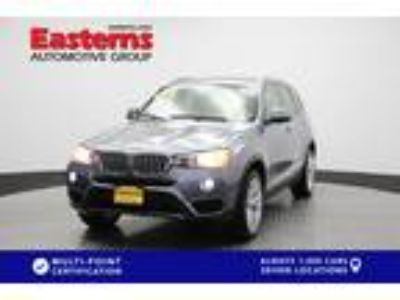 Used 2016 BMW X3 Space Gray Metallic, 47.9K miles