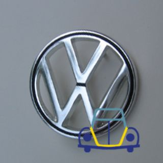 Karmann Ghia OEM Front Nose Emblem, German