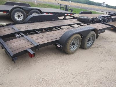 16 ft car hauler