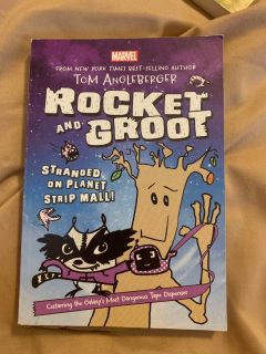 Marvel Rocket and the Groot book